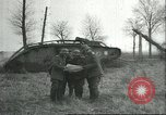 Image of captured British Mark IV heavy tank Cambrai France, 1917, second 16 stock footage video 65675061615