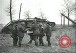 Image of captured British Mark IV heavy tank Cambrai France, 1917, second 26 stock footage video 65675061615