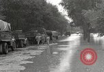 Image of flooded highway Panjao Burma, 1944, second 3 stock footage video 65675061640