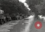 Image of flooded highway Panjao Burma, 1944, second 5 stock footage video 65675061640