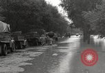 Image of flooded highway Panjao Burma, 1944, second 6 stock footage video 65675061640
