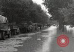 Image of flooded highway Panjao Burma, 1944, second 11 stock footage video 65675061640