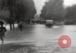 Image of flooded highway Panjao Burma, 1944, second 32 stock footage video 65675061640