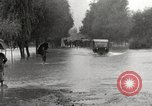 Image of flooded highway Panjao Burma, 1944, second 33 stock footage video 65675061640