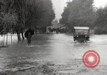 Image of flooded highway Panjao Burma, 1944, second 39 stock footage video 65675061640
