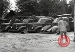 Image of flooded highway Panjao Burma, 1944, second 43 stock footage video 65675061640