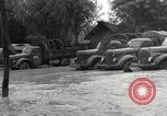 Image of flooded highway Panjao Burma, 1944, second 49 stock footage video 65675061640