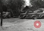 Image of flooded highway Panjao Burma, 1944, second 50 stock footage video 65675061640