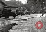 Image of flooded highway Panjao Burma, 1944, second 57 stock footage video 65675061640