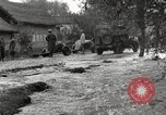 Image of flooded highway Panjao Burma, 1944, second 59 stock footage video 65675061640