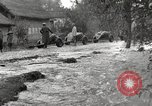 Image of flooded highway Panjao Burma, 1944, second 60 stock footage video 65675061640