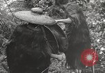 Image of Chinese coolies Burma, 1944, second 31 stock footage video 65675061641