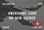Image of United States soldiers Saidor New Guinea, 1944, second 5 stock footage video 65675061658