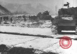 Image of American forces engage North Korean forces in the Iron Triangle during Korean War Korea, 1951, second 62 stock footage video 65675061706