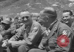 Image of Jack Benny's USO troupe entertains American soldiers in Korea Korea, 1955, second 12 stock footage video 65675061712