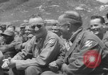 Image of Jack Benny's USO troupe entertains American soldiers in Korea Korea, 1955, second 13 stock footage video 65675061712