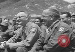 Image of Jack Benny's USO troupe entertains American soldiers in Korea Korea, 1955, second 14 stock footage video 65675061712