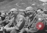 Image of Jack Benny's USO troupe entertains American soldiers in Korea Korea, 1955, second 15 stock footage video 65675061712