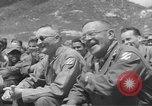 Image of Jack Benny's USO troupe entertains American soldiers in Korea Korea, 1955, second 16 stock footage video 65675061712