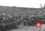 Image of Jack Benny's USO troupe entertains American soldiers in Korea Korea, 1955, second 27 stock footage video 65675061712