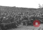 Image of Jack Benny's USO troupe entertains American soldiers in Korea Korea, 1955, second 29 stock footage video 65675061712