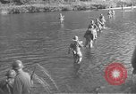 Image of American infantry wading through water Korea, 1953, second 5 stock footage video 65675061714