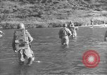 Image of American infantry wading through water Korea, 1953, second 6 stock footage video 65675061714