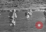 Image of American infantry wading through water Korea, 1953, second 7 stock footage video 65675061714