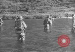 Image of American infantry wading through water Korea, 1953, second 8 stock footage video 65675061714