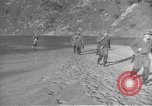 Image of American infantry wading through water Korea, 1953, second 14 stock footage video 65675061714