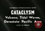 Image of damage due to cataclysm Pacific Ocean, 1960, second 3 stock footage video 65675061716