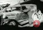 Image of damage due to cataclysm Pacific Ocean, 1960, second 27 stock footage video 65675061716