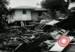 Image of damage due to cataclysm Pacific Ocean, 1960, second 56 stock footage video 65675061716