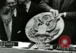Image of United Nations session New York United States USA, 1960, second 34 stock footage video 65675061719