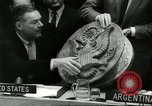 Image of United Nations session New York United States USA, 1960, second 35 stock footage video 65675061719