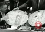 Image of United Nations session New York United States USA, 1960, second 37 stock footage video 65675061719