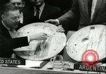 Image of United Nations session New York United States USA, 1960, second 38 stock footage video 65675061719