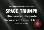 Image of Discoverer XIII United States USA, 1960, second 3 stock footage video 65675061720