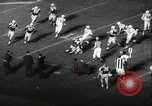Image of football match Chicago Illinois USA, 1960, second 52 stock footage video 65675061724