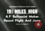 Image of Colonel Joseph Kittinger New Mexico United States USA, 1960, second 1 stock footage video 65675061726