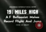 Image of Colonel Joseph Kittinger New Mexico United States USA, 1960, second 5 stock footage video 65675061726