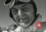 Image of Sir Malcolm Campbell speed record Utah Bonneville Salt Flats USA, 1935, second 1 stock footage video 65675061737