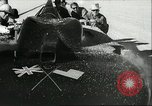 Image of Sir Malcolm Campbell speed record Utah Bonneville Salt Flats USA, 1935, second 14 stock footage video 65675061737