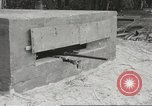 Image of 14-inch disappearing rifle at Ft. DeRussy Hawaii USA, 1941, second 57 stock footage video 65675061752