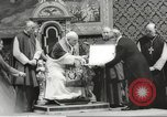 Image of Pope John XXIII Vatican City Rome Italy, 1963, second 41 stock footage video 65675061764