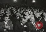 Image of President John F Kennedy awards handicapped man Massachusetts United States USA, 1963, second 22 stock footage video 65675061766