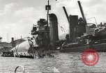 Image of attack on Pearl Harbor Pearl Harbor Hawaii USA, 1941, second 43 stock footage video 65675061769