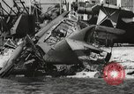 Image of attack on Pearl Harbor Pearl Harbor Hawaii USA, 1941, second 51 stock footage video 65675061769