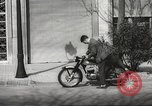 Image of parking problems Madrid Spain, 1966, second 47 stock footage video 65675061784
