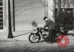 Image of parking problems Madrid Spain, 1966, second 48 stock footage video 65675061784